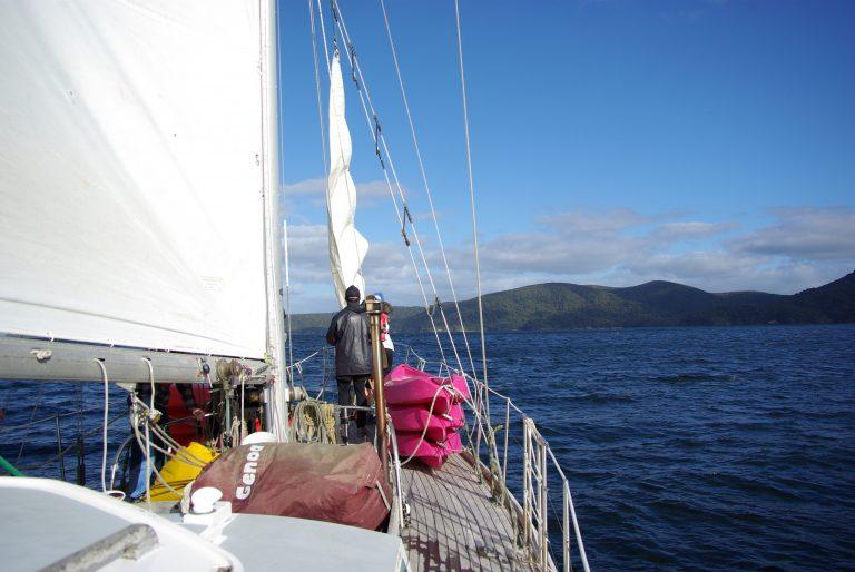 voilier. Stewart Island. leplusbeauvoyage.com