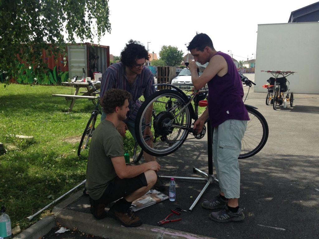 Atelier Vélo Participatif Solidaire Pau