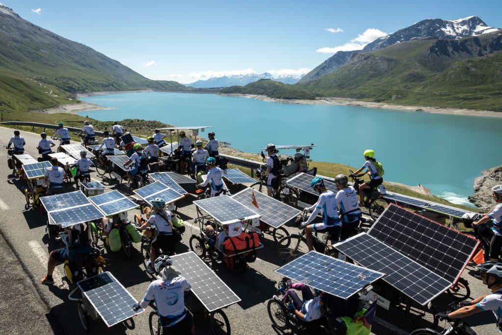 Sun Trip Tour 2019, vélos solaires, lac, leplusbeauvoyage.com