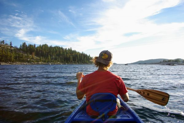 traverser le lac Loon en canoe leplusbeauvoyage.com
