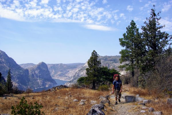 Au-dessus de Hetch Hetchy, Yosemite, leplusbeauvoyage.com