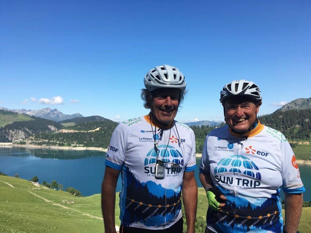 Sun Trip Tour 2019, Lac de Roselend, JeanMarie Alain, leplusbeauvoyage.com