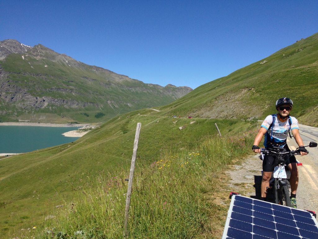 Le Lac du Mont Cenis à vélo solaire, Sun Trip Tour 2019, leplusbeauvoyage.com