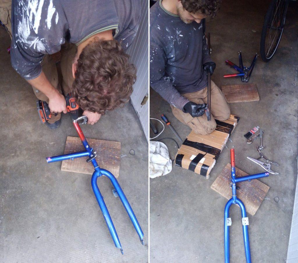 Fabrication remorques pour vélos solaire, leplusbeauvoyage.com