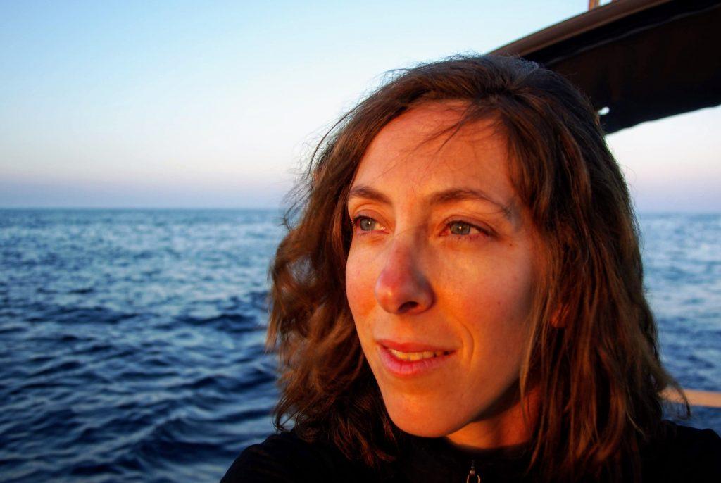 Perrine, coucher de soleil, en approche des Açores, leplusbeauvoyage.com